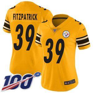 Women Steelers #39 Minkah Fitzpatrick 100th Jersey